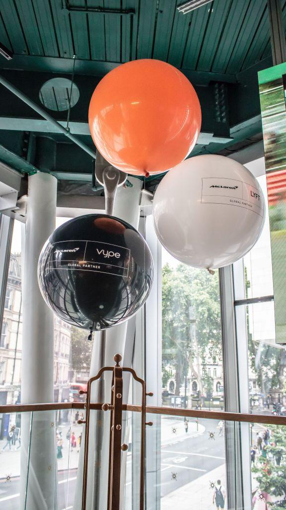 branded giant balloon