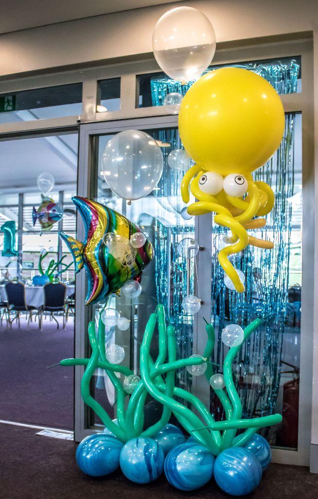 under the sea balloons