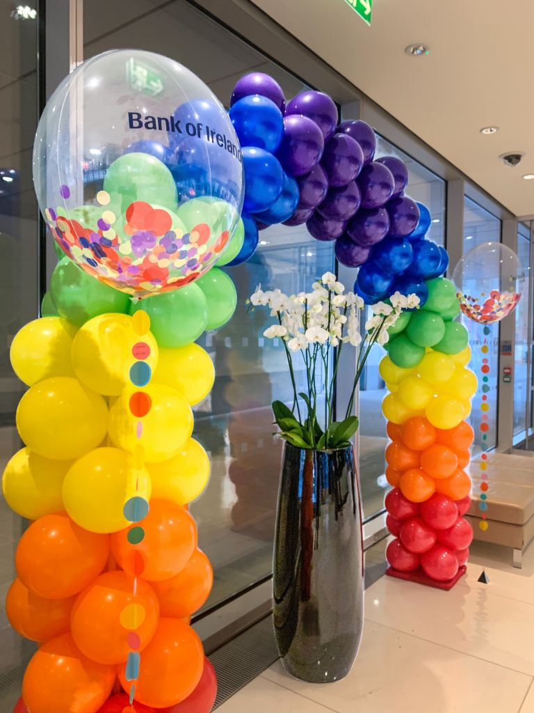 branded balloon bubbles
