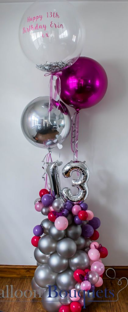 personlised bubbles and Orbz organic balloons