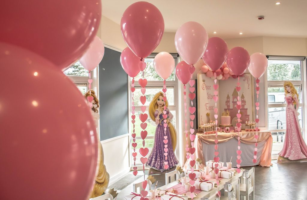 princess party balloons