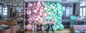 Japanese Theme Balloon Wall